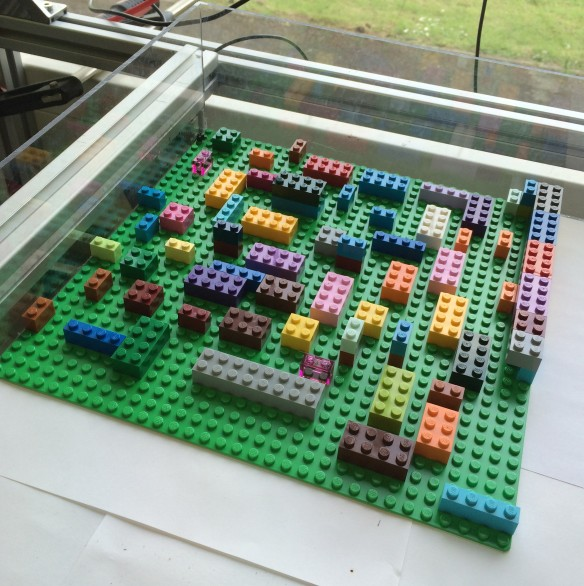 Big Lego arena